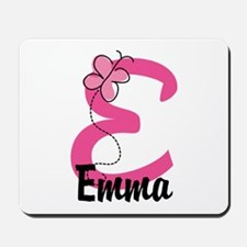 Personalized Monogram Letter E Mousepad