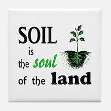 Soul of the Land Tile Coaster