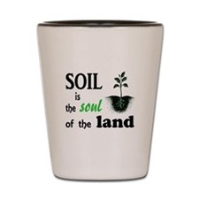 Soul of the Land Shot Glass