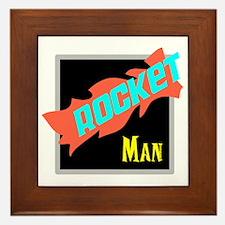 Rocket Man/Elton john Framed Tile