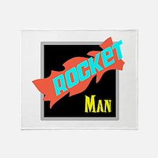 Rocket Man/Elton john Throw Blanket