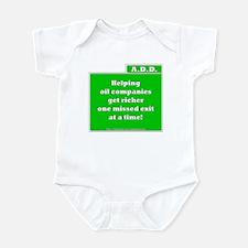 A.D.D. Exit Infant Bodysuit