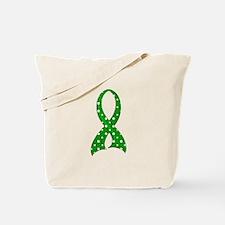 Polka Dot Ribbon TBI Tote Bag