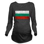 Bulgaria.jpg Long Sleeve Maternity T-Shirt