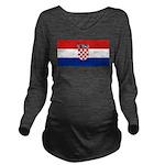 Croatia.jpg Long Sleeve Maternity T-Shirt