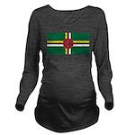 Dominica.jpg Long Sleeve Maternity T-Shirt