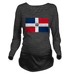 Dominican Republic.jpg Long Sleeve Maternity T-Shi