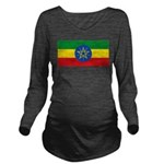 Ethiopia.jpg Long Sleeve Maternity T-Shirt