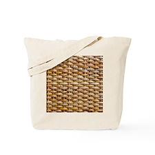 Woven Wicker Basket Tote Bag