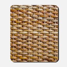 Woven Wicker Basket Mousepad