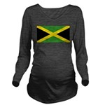 Jamaica.jpg Long Sleeve Maternity T-Shirt