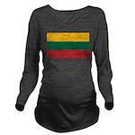 Lithuania.jpg Long Sleeve Maternity T-Shirt