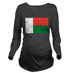 Madagascar.jpg Long Sleeve Maternity T-Shirt