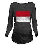 Monaco.jpg Long Sleeve Maternity T-Shirt
