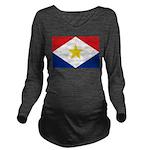 Saba.jpg Long Sleeve Maternity T-Shirt