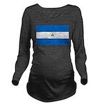 Nicaragua.jpg Long Sleeve Maternity T-Shirt