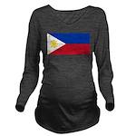 Philippines.jpg Long Sleeve Maternity T-Shirt