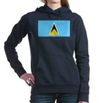 Saint Lucia.jpg Hooded Sweatshirt