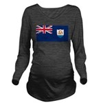 Anguilla.jpg Long Sleeve Maternity T-Shirt