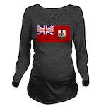 Bermuda.jpg Long Sleeve Maternity T-Shirt