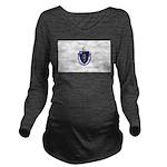 Massachusetts.jpg Long Sleeve Maternity T-Shirt