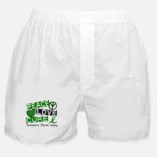 Peace Love Cure 1 TBI Boxer Shorts