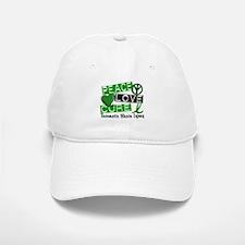 Peace Love Cure 1 TBI Baseball Baseball Cap