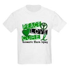 Peace Love Cure 1 TBI T-Shirt