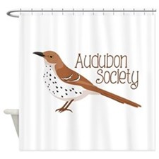 Audubon Society Shower Curtain