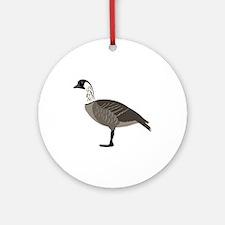 Nene Goose Ornament (Round)