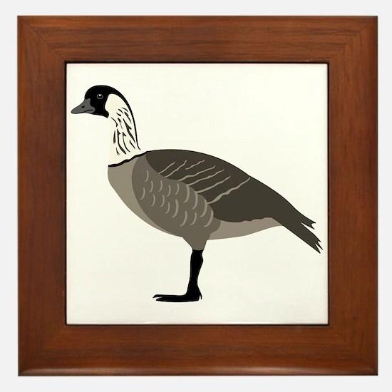 Nene Goose Framed Tile