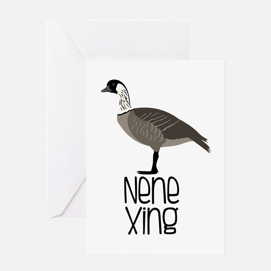 Nene Xing Greeting Cards