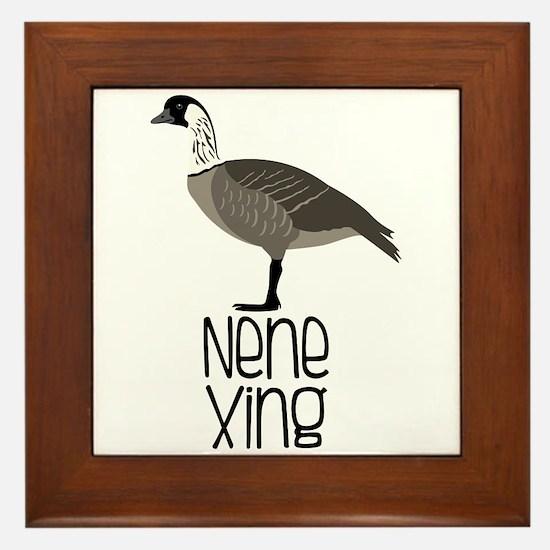 Nene Xing Framed Tile