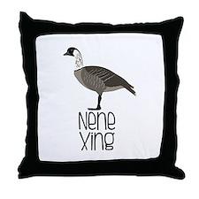 Nene Xing Throw Pillow