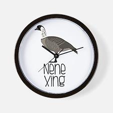 Nene Xing Wall Clock