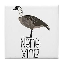 Nene Xing Tile Coaster