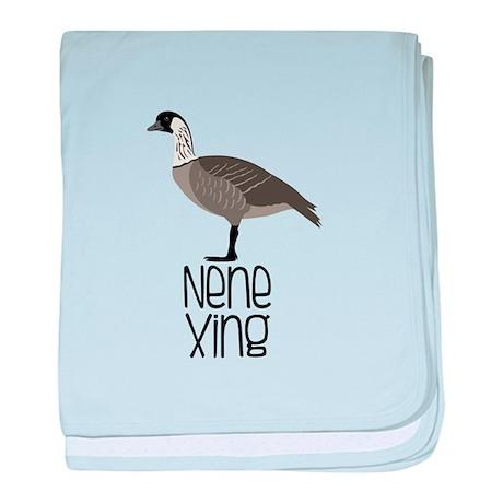Nene Xing baby blanket