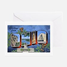 Ohio Greetings Greeting Cards (Pk of 10)