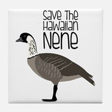 Save the Hawaiian NENE Tile Coaster