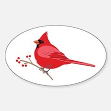 Northern Cardinal Decal