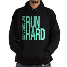 Run Hard Eat Cupcakes Hoody