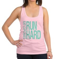 Run Hard Eat Cupcakes Racerback Tank Top