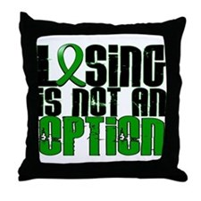 Losing Is Not An Option TBI Throw Pillow