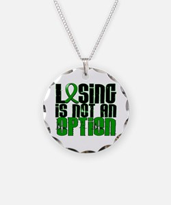 Losing Is Not An Option TBI Necklace
