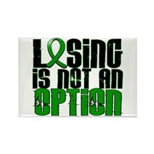 Losing Is Not An Option TBI Rectangle Magnet