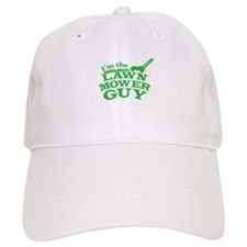Im the LAWN MOWER GUY with green grass Baseball Cap