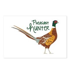 PheasaNt huNteR Postcards (Package of 8)