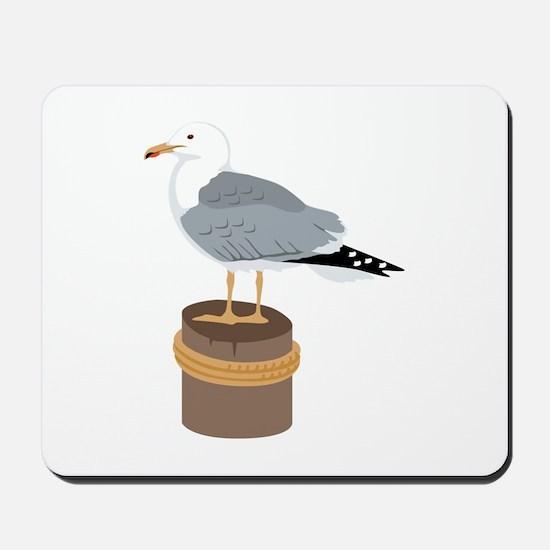 Pier Gull Mousepad