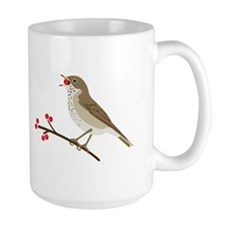 Hermit Thrush Mugs