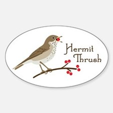 Hermit Thrush Decal